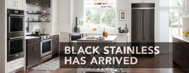 Introducing KitchenAid Black Stainless