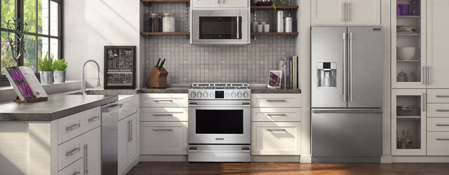 Frigidaire Professional Slide-In Appliance Package